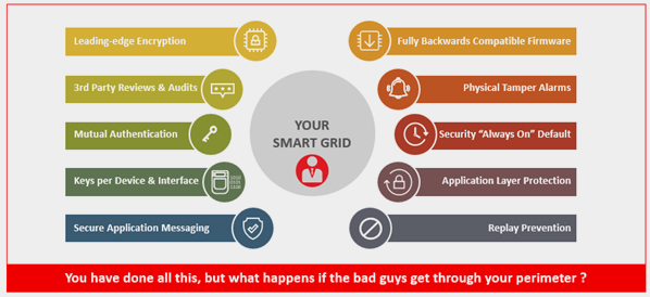 Is your Smart Grid really secure? Is protection enough by itself?