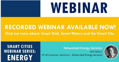 Smart Cities Webinar on ENERGY