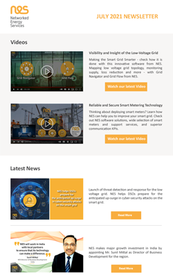 July 2021 Newsletter from NES.