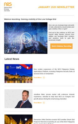 Exclusive webinars, interviews and smart grid news
